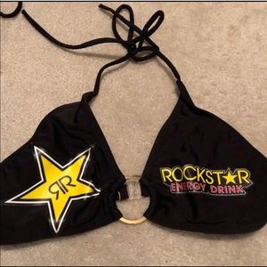 Rockstar energy bikini top ONLY